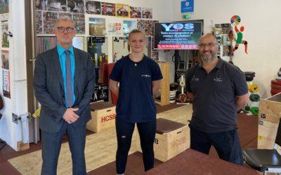 Partenariat Sportif avec le Club d'Haltérophilie